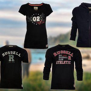 Pohodlné sportovní oblečení Russell Athletic