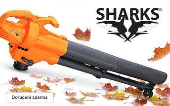Elektrický vysavač listí Sharks 2v1