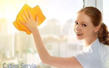 Profesionální mytí oken, rámů i parapetů