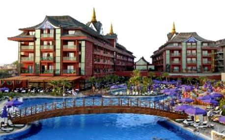 Turecko, oblast Belek, letecky, ultra All inclusive, ubytování v 5* hotelu na 8 dní