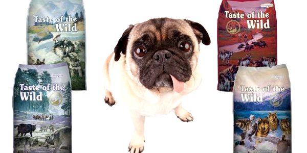 Psí granule pro štěňata i dospělé psy v 7 různých příchutích