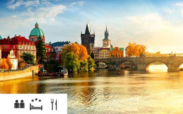 Pobyt se snídaněmi v Praze v 3* hotelu – děti do 6 let zdarma