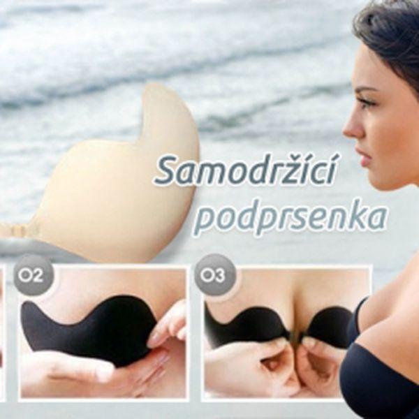 Zvedněte si sebevědomí díky PUSH-UP SAMODRŽÍCÍ PODPRSENCE v tělové a černé barvě za báječných 149 Kč! Dokonale padne a vykouzlí sexy dekolt během pár vteřin! Cena VČETNĚ POŠTOVNÉHO!