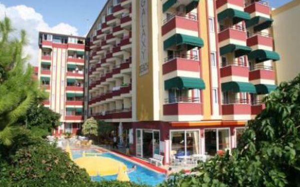 Turecko, oblast Alanya, letecky, all Inclusive, ubytování v 4* hotelu na 11 dní
