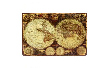 Retro mapa světa a poštovné ZDARMA! - 28513766