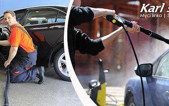 Ruční mytí auta a precizní čištění interiéru
