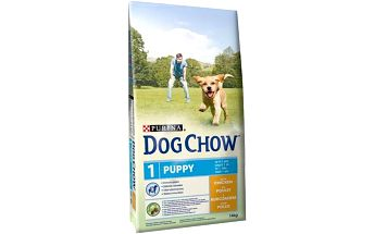 Purina Dog Chow Puppy kuře 14 kg + Doprava zdarma