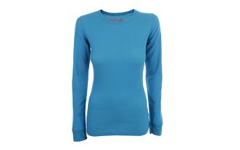 Dámské modré termo triko s dlouhým rukávem Authority