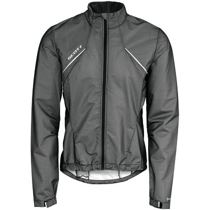 Jacket Windstopper Helium black, šedá, L