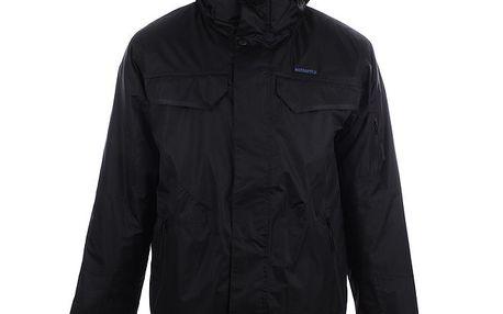 Pánská černá lyžařská bunda s kapucí Authority