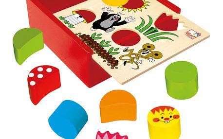 Krabička s tvary - Krtek
