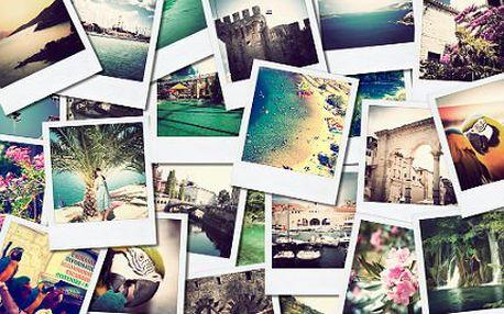 Digitální tisk 108 fotografií na kvalitním fotopapíře