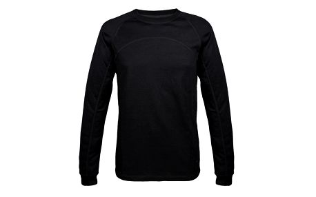 Pánské antracitové termo tričko s dlouhým rukávem Authority