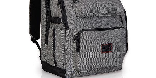 Dvoukomorový batoh na všestranné použití EFI 409 P - Dark Grey