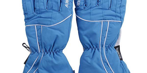 Modré lyžařské rukavice Authority