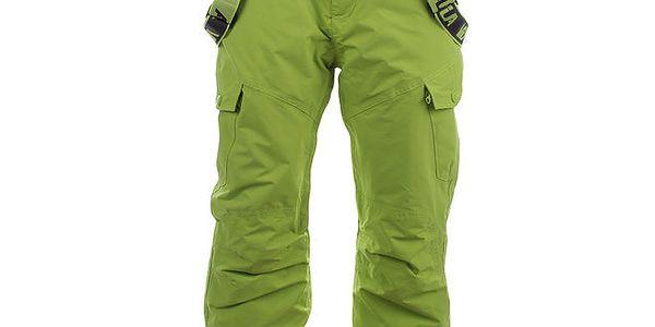 Pánské světle zelené snowboardové kalhoty Authority