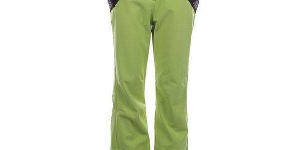 Dámské zelené lyžařské kalhoty s kšandami Authority