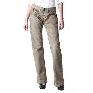 Dámské šedé rovné džíny Replay