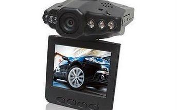 Skvělá HD minikamera do auta s fotoaparátem i nočním viděním