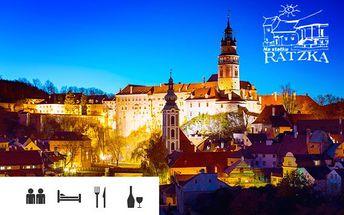 Český Krumlov – dovolená až pro 5 osob nebo silvestrovský pobyt