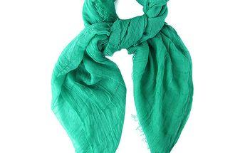 Dámský zelený šátek Belle & Bloom