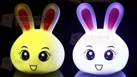 Mini lampička v podobě králíčka a poštovné ZDARMA! - 28813891