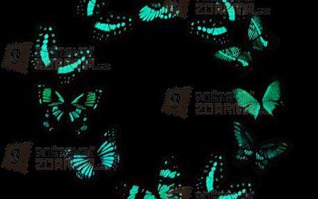 10 kusů svítících motýlků a poštovné ZDARMA! - 28813905