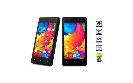 "Smartphone 4"", 2x SIM, Android 4.2.2, 2x fotoaparát"