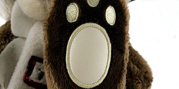 Teddy Big Foot Medvídek 13cm v beranici, TBF2