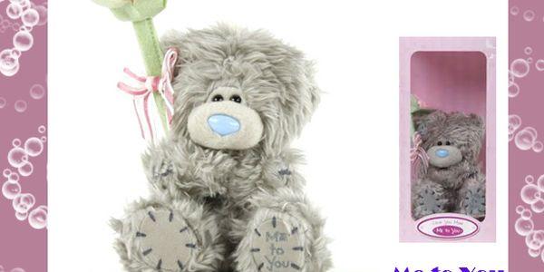 Medvídek Me to You s velkou růžičkou