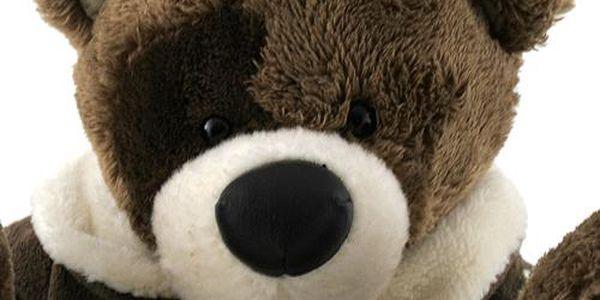 Teddy Big Foot Medvídek 13cm v hnědém kabátku, TBF2