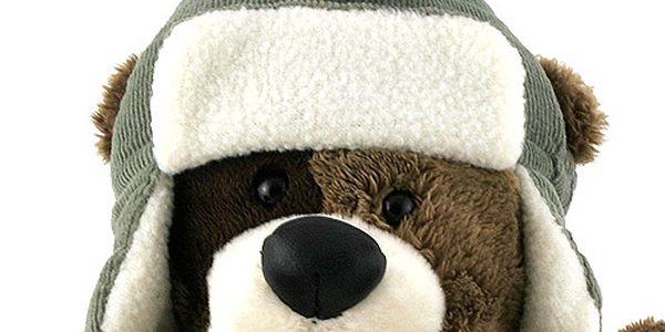 Teddy Big Foot Medvídek 13cm v beranici Big Foot2