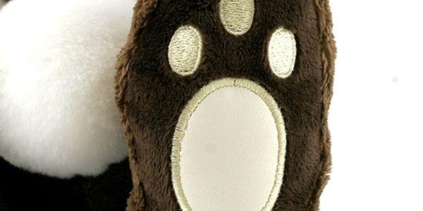 Teddy Big Foot Medvídek 13cm v beranici Big Foot4