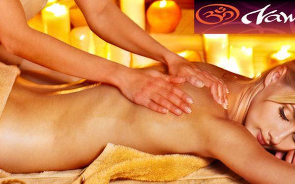 Báječná 60minutová celotělová masáž GANO