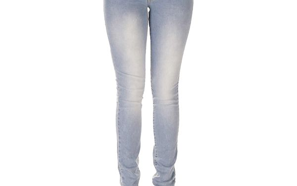 Dámské světle modré džíny s šisováním Lois