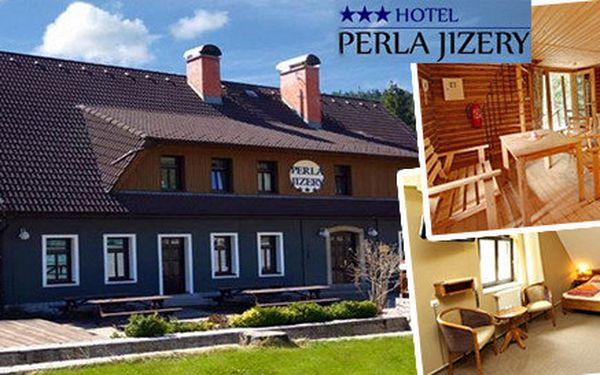 Balíček Babí léto v Jizerských horách s plnou penzí a all inclusive nápoji s jedinečnou saunou s přírodním koupáním