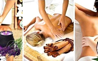 60 minut masáže se zábalem dle vlastního výběru Antistresová, Relaxační aromaterapeutická olejová, Pivní nebo Jogurtová