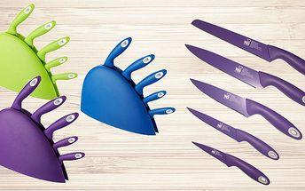 6dílná sada nožů s nepřilnavým povrchem