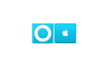 Apple iPod shuffle 2GB (MD775HC/A) modrý