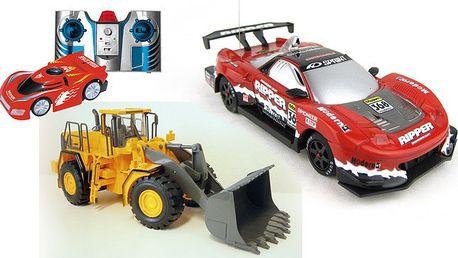 RC modely aut a stavebních strojů