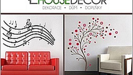 Designové nálepky na zeď
