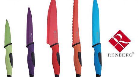 Kuchyňské nože Renberg – sada 5 ks