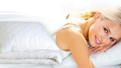Set deka a polštář z mikrovlákna zajistí Váš pohodlný spánek. Certifikovaná souprava kvalitní zdravotní prošívané deky a polštáře vám zajistí spánek jako na obláčku.