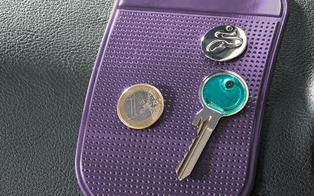 Lepicí podložky, fialové, 2 ks