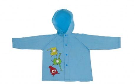 Kouzelná školka - pláštěnka dětská modrá, 5-6 let