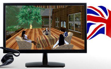Aktivní angličtina ve virtuální realitě (všechny pokročilosti, ne pro studenty) 14 Kč za hodinu