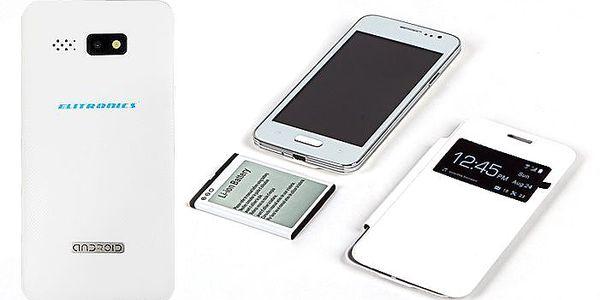 Chytrý telefon Elitronics W8 mini s Androidem