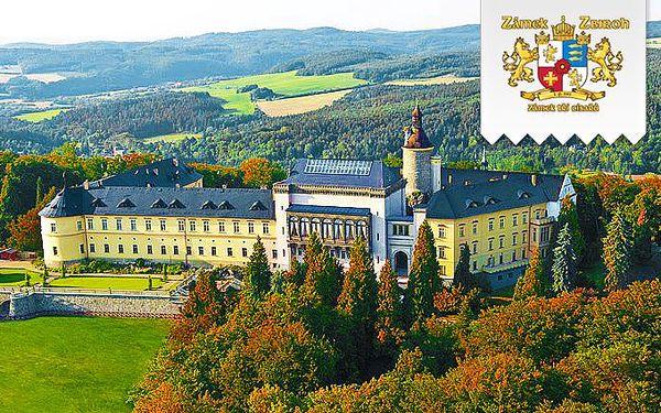 2 nebo 3 dny podzimní relaxace v Chateau hotelu Zbiroh se snídaněmi