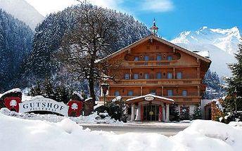 Rakouské Alpy: Přepychová dovolená v hotelu**** s wellness!