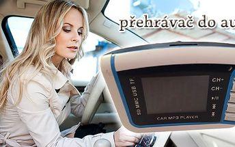Rozšiřte si svou výbavu auta o toto praktické zařízení. MP3 přehrávač do auta - vezměte si svou oblíbenou hudbu i na cesty!